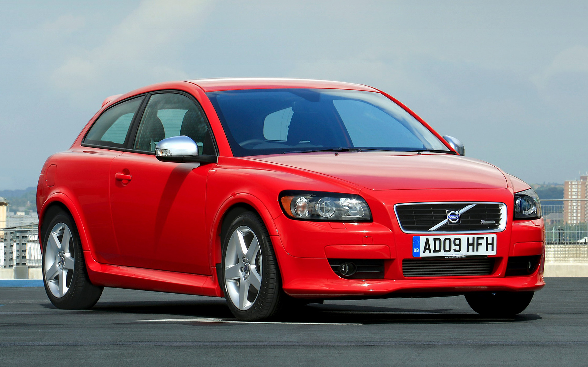 volvo c30 r design 2008 uk wallpapers and hd images car pixel. Black Bedroom Furniture Sets. Home Design Ideas