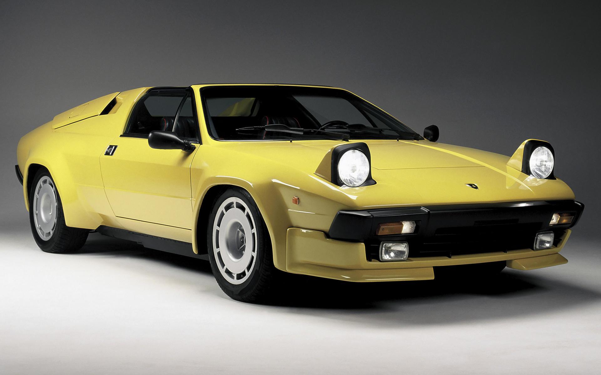 1984 Lamborghini Jalpa - Wallpapers and HD Images | Car Pixel