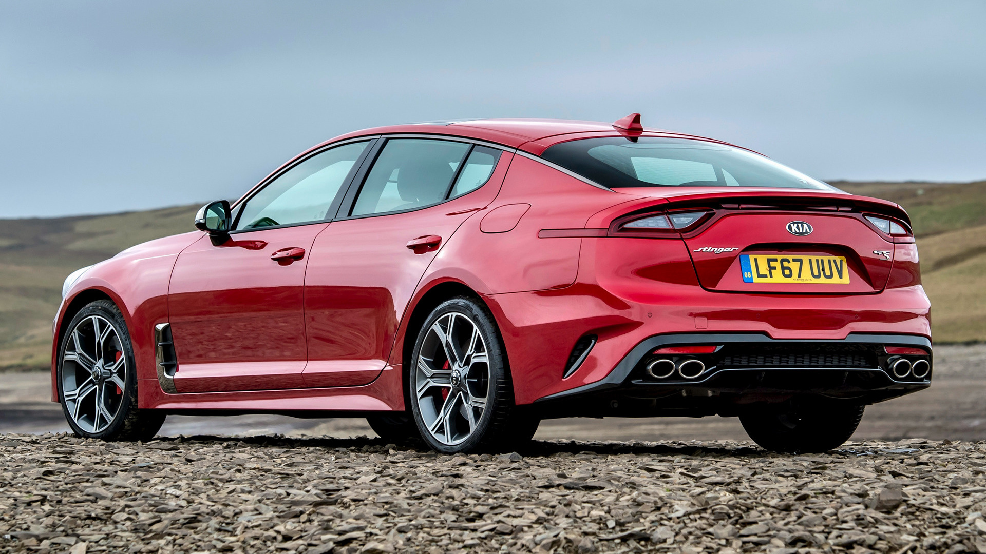 2017 Kia Stinger Gt S Uk Wallpapers And Hd Images