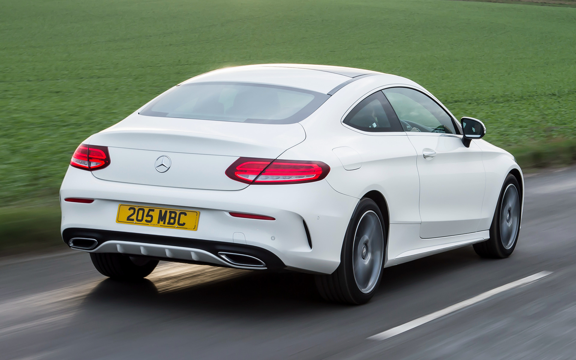 Mercedes benz c class coupe amg line 2015 uk wallpapers for Mercedes benz c class sedan