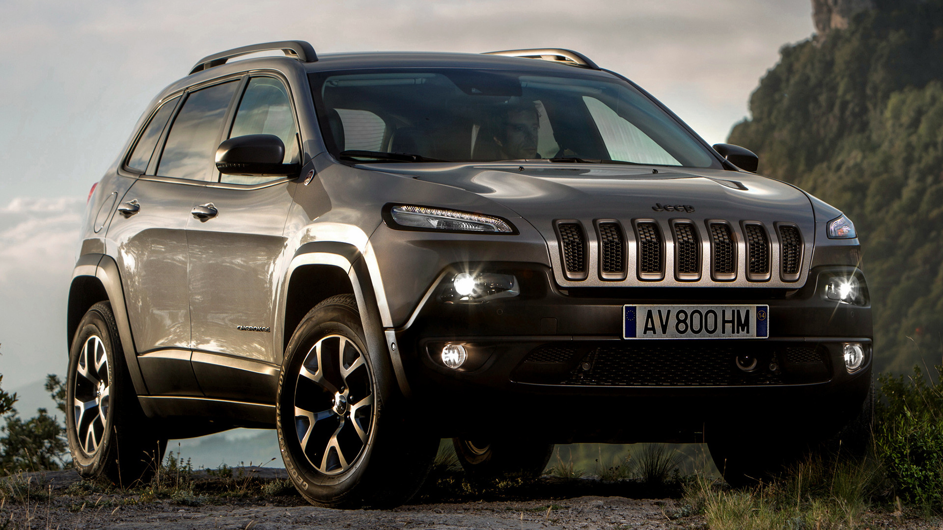 2014 Jeep Cherokee Trailhawk (EU) - Wallpapers and HD ...
