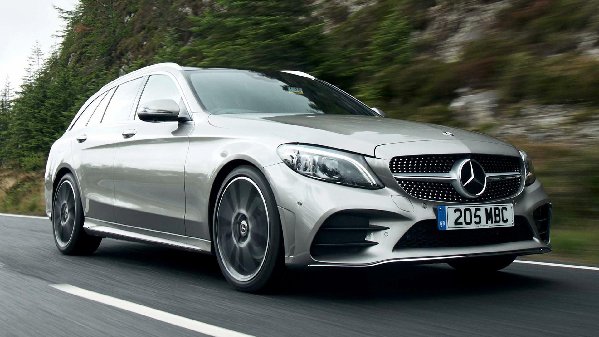 2018 Mercedes-Benz C-Class Estate AMG Line (UK ...