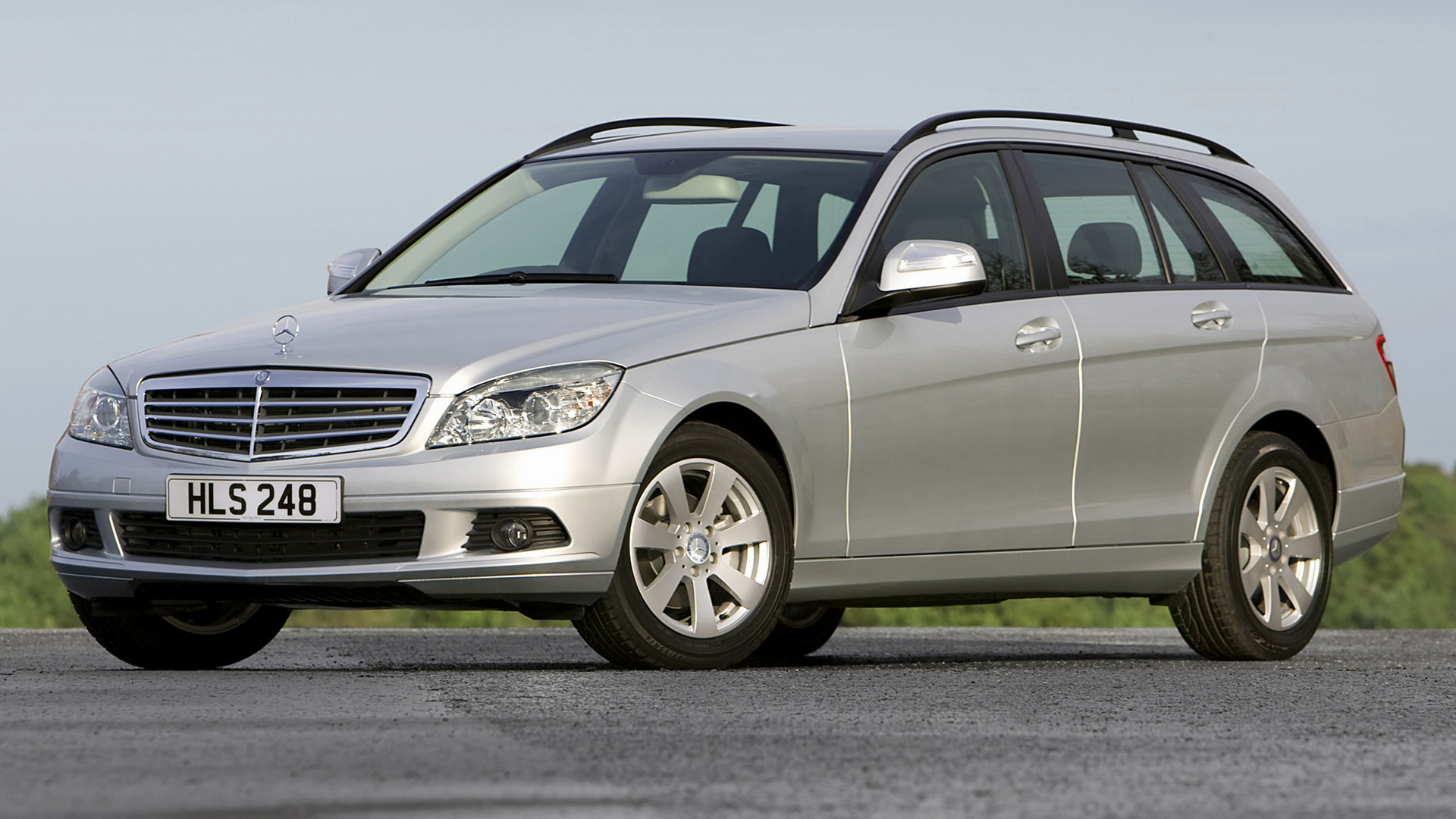 mercedes benz c class estate 2007 uk wallpapers and hd images car pixel. Black Bedroom Furniture Sets. Home Design Ideas