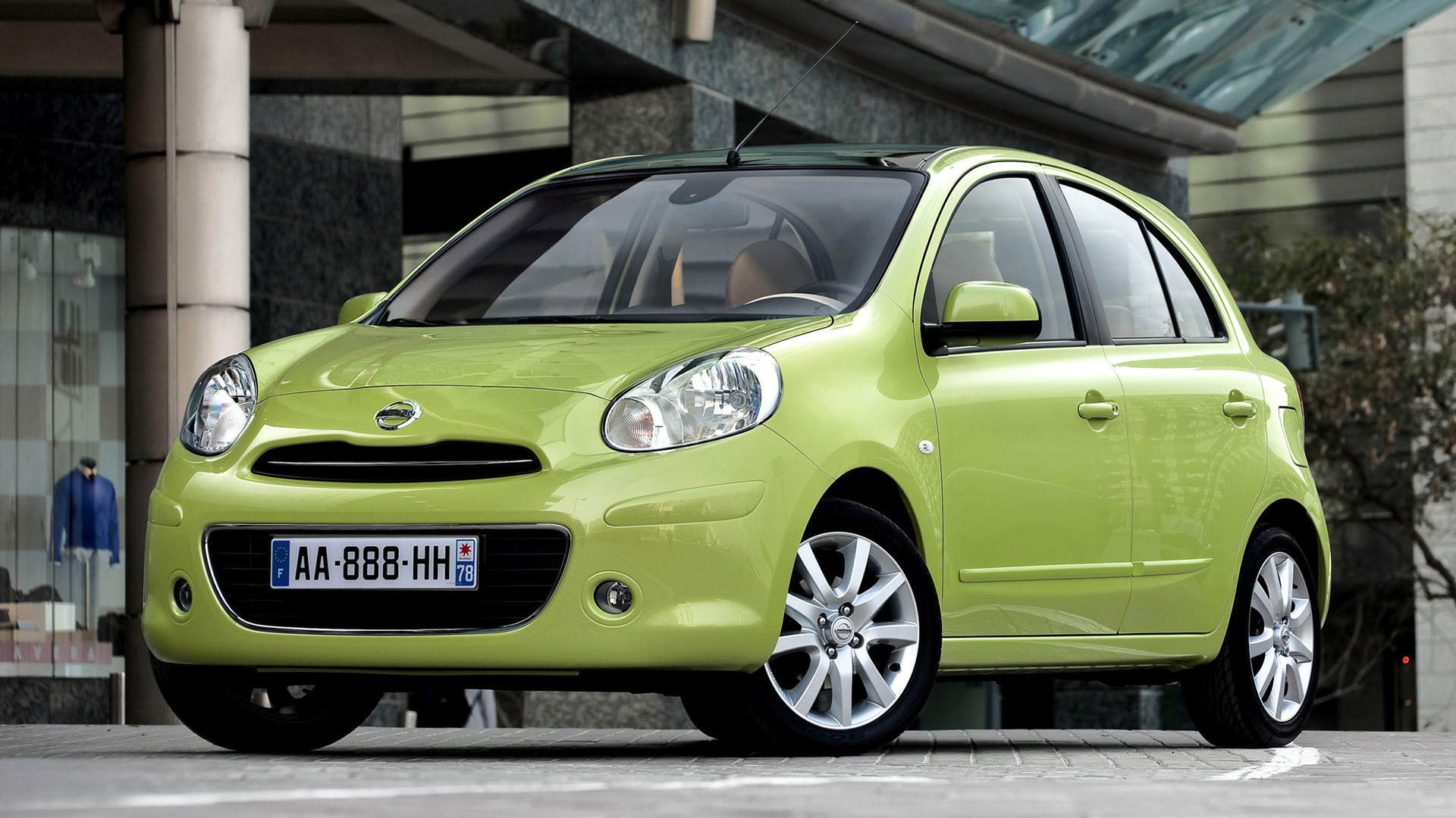 2010 nissan micra wallpapers and hd images car pixel. Black Bedroom Furniture Sets. Home Design Ideas