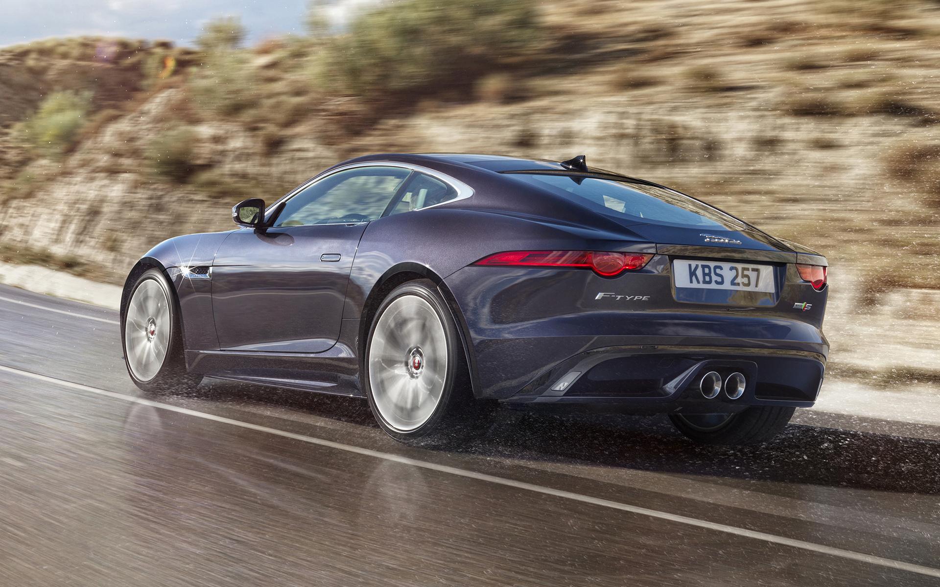 Jaguar F-Type Coupe  № 2429506 бесплатно