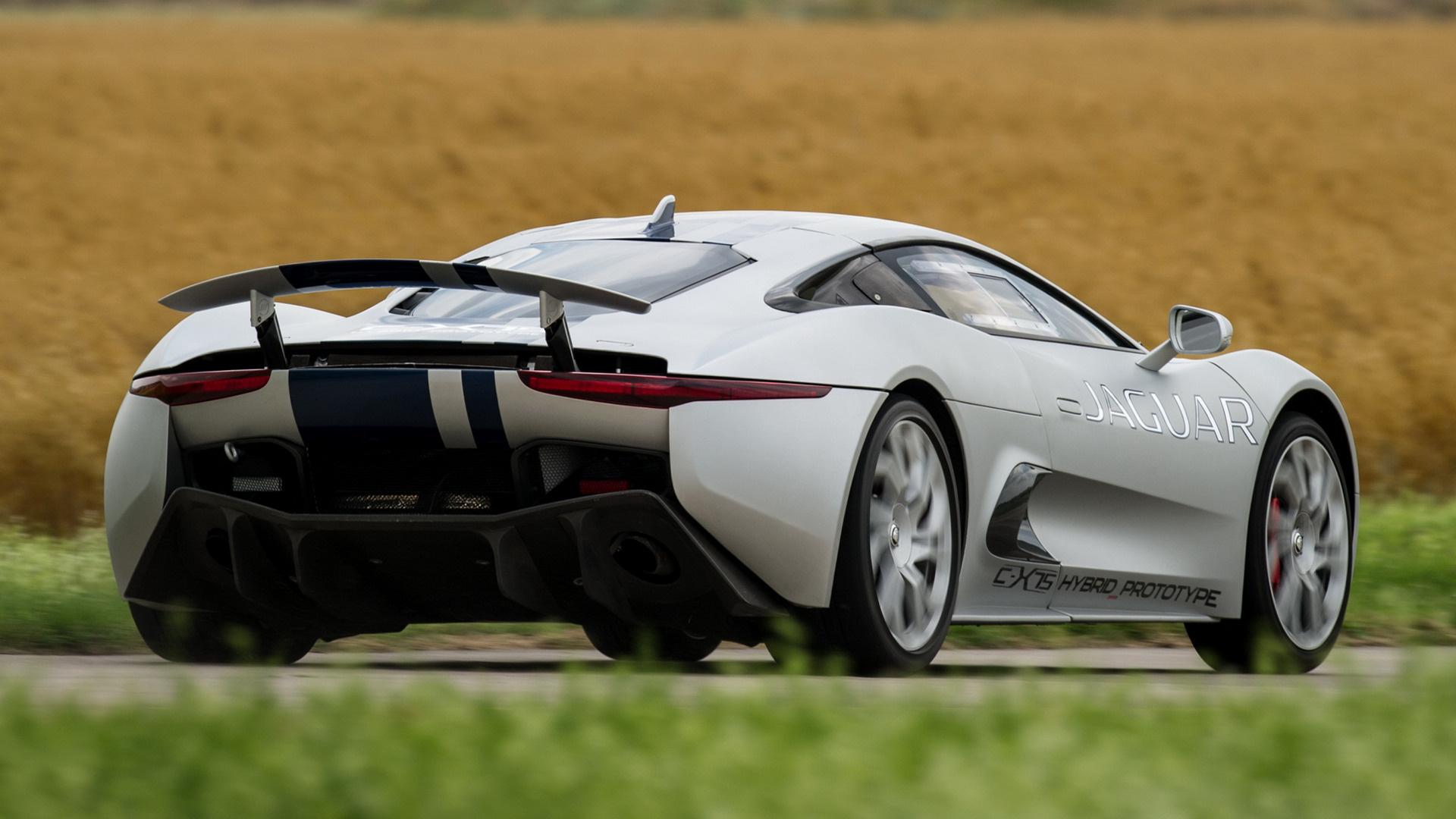 2013 Jaguar C-X75 Hybrid Prototype - Wallpapers and HD ...