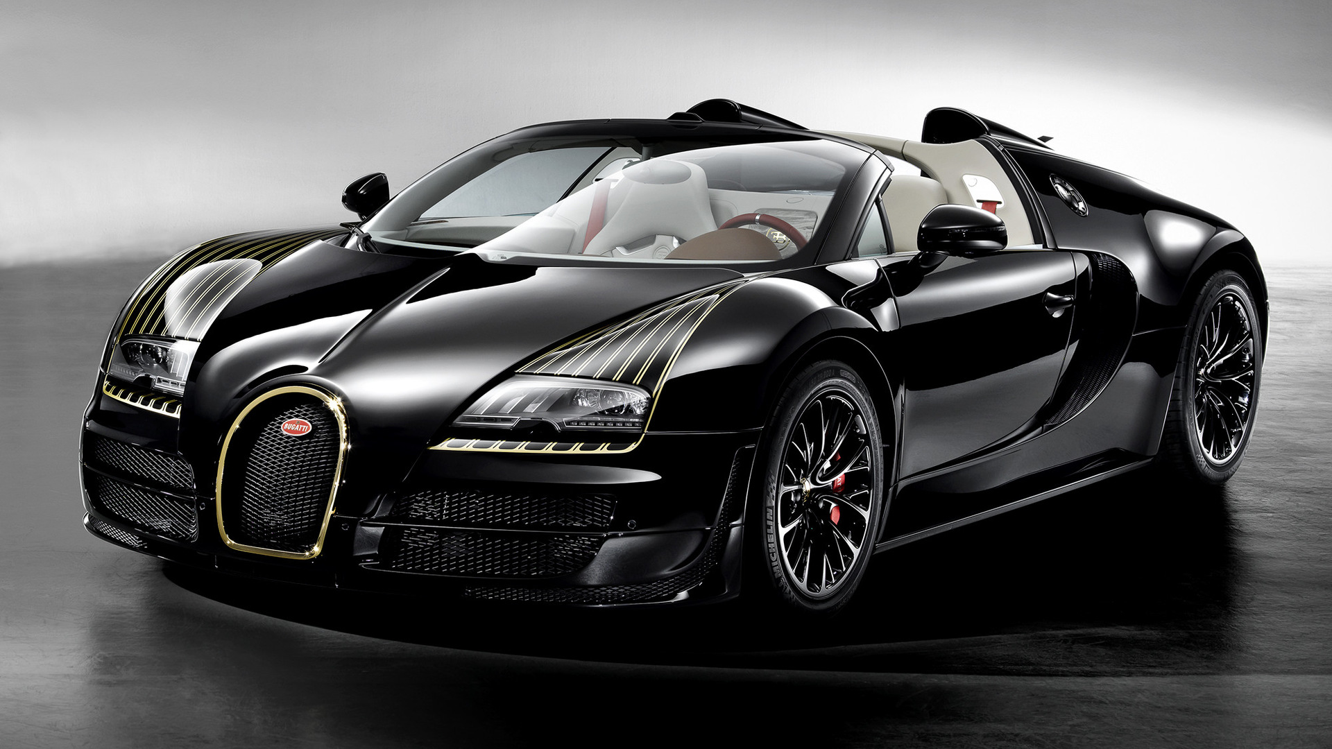 Sport Wallpaper Black: 2014 Bugatti Veyron Grand Sport Vitesse Black Bess