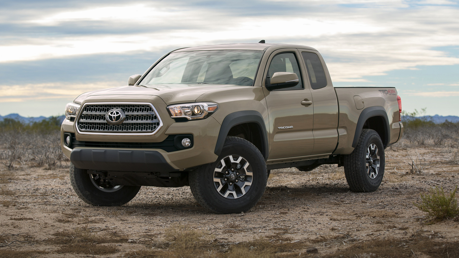 Toyota Tacoma Trd Off Road Access Cab 2016 Wallpapers