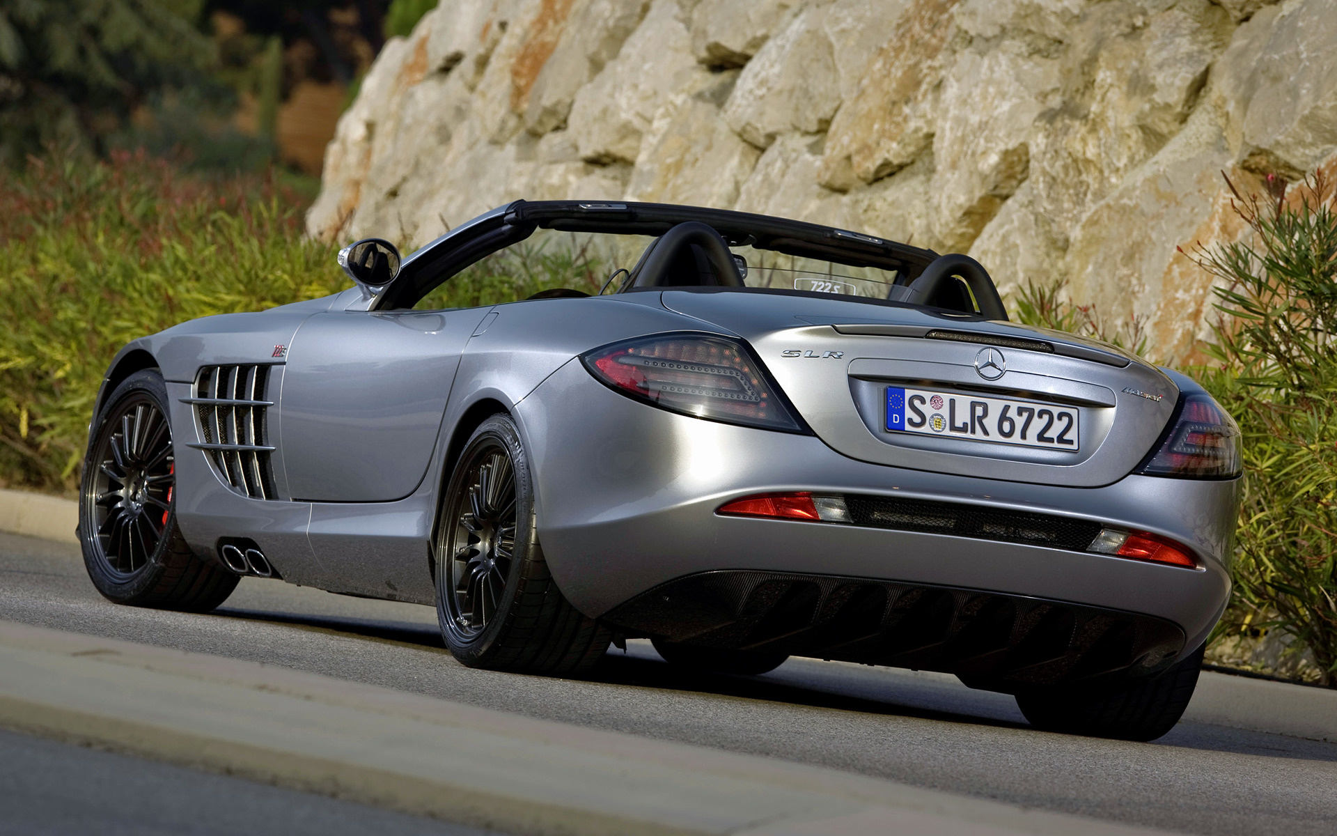 wide 85 slr wallpaper mercedes benz - Mercedes Benz Slr Wallpaper Hd