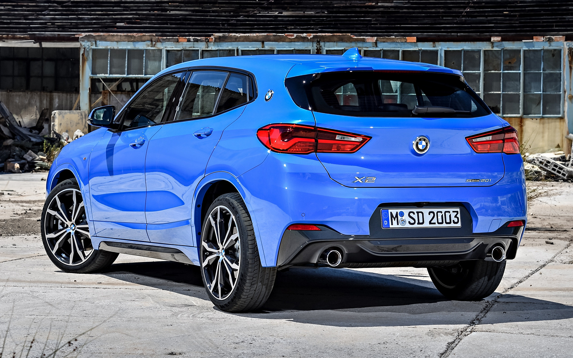 2018 BMW X2 M Sport - Wallpapers and HD Images | Car Pixel