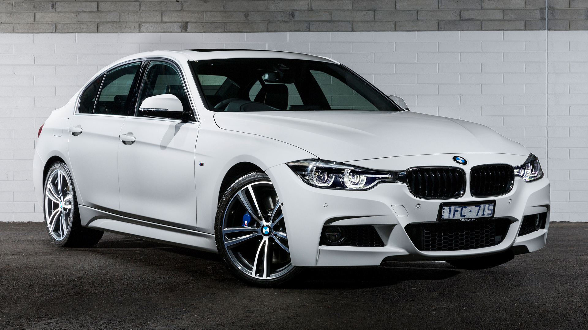 bmw 3 series m sport 100 year edition (2016) au wallpapers and hd