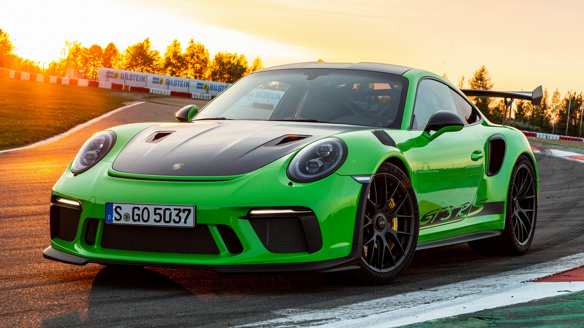 2018 Porsche 911 GT3 RS Weissach Package - Wallpapers and ...
