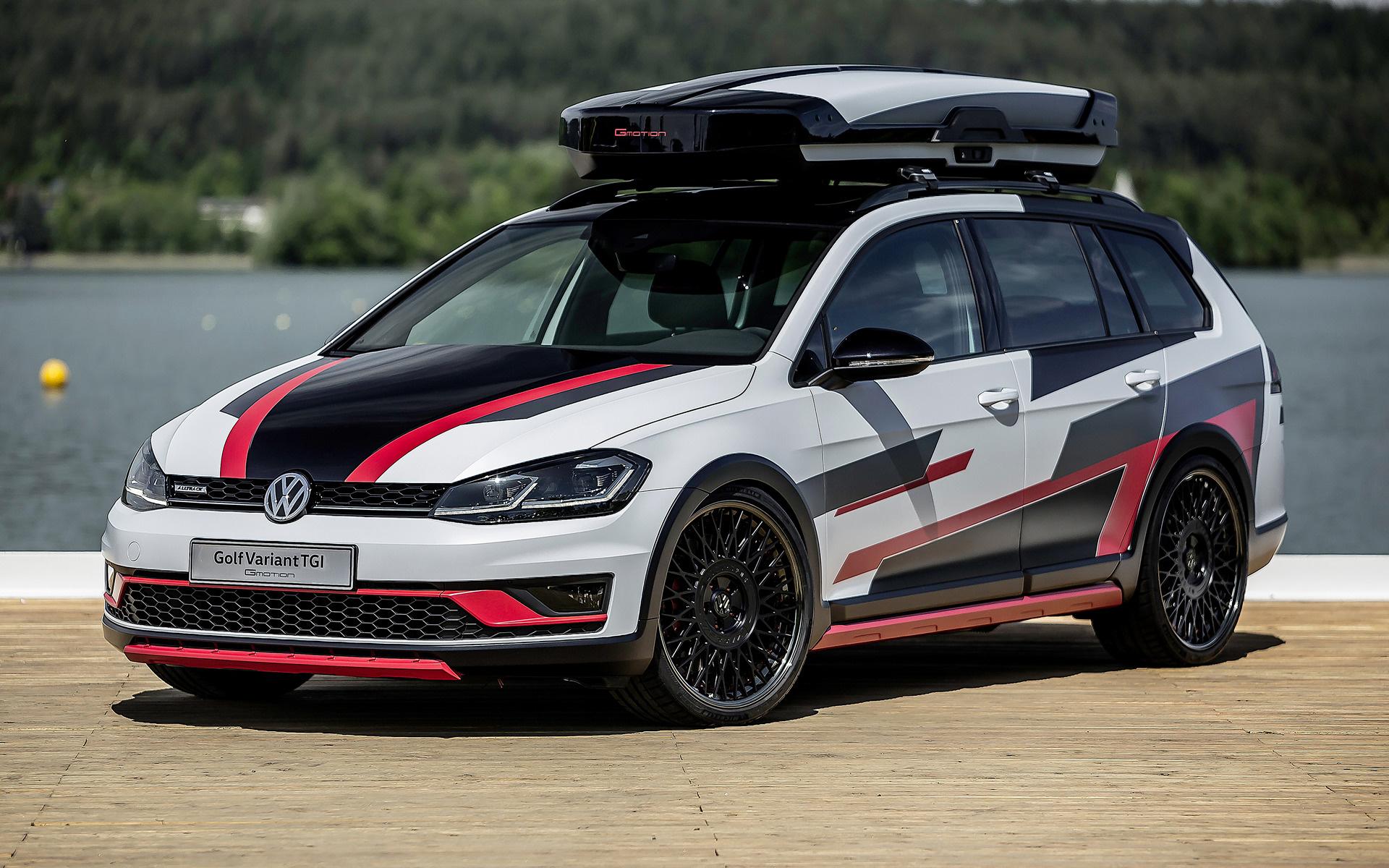 2018 Volkswagen Golf Variant Alltrack Tgi Gmotion Concept