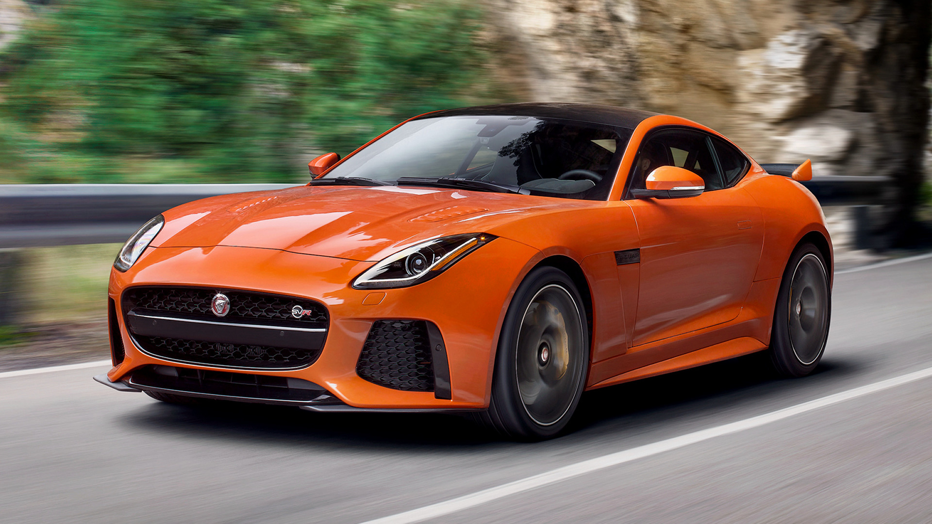 2016 Jaguar F-Type SVR Coupe (US) - Wallpapers and HD ...