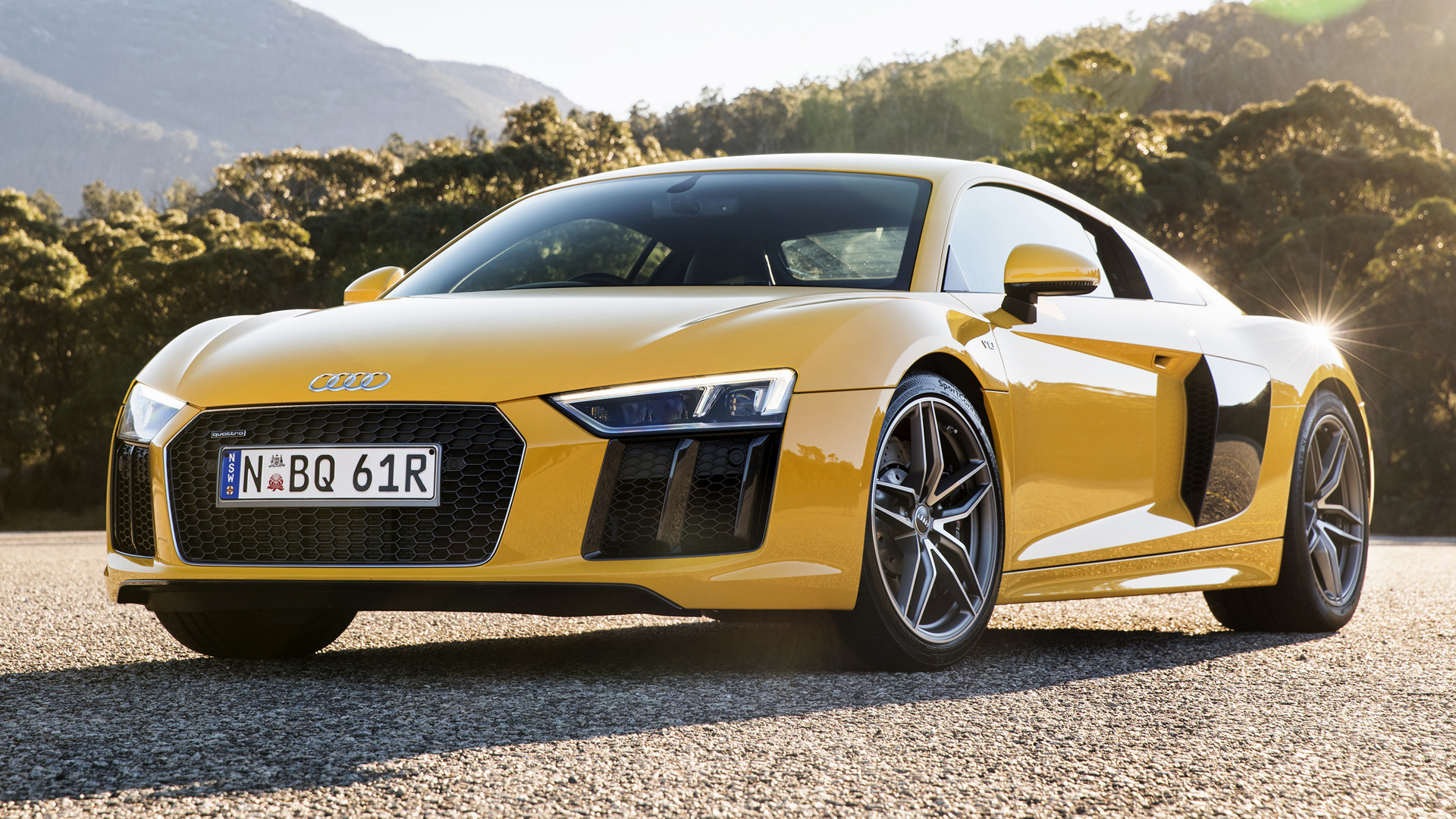 2016 audi r8 coupe au wallpapers and hd images car pixel. Black Bedroom Furniture Sets. Home Design Ideas