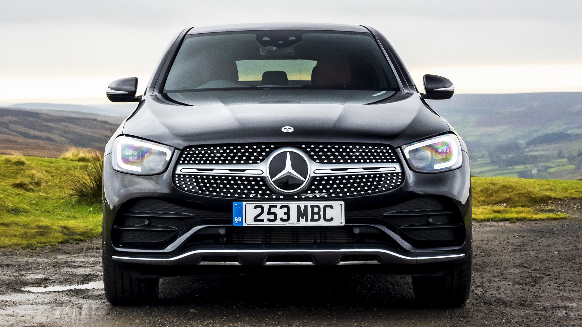 2019 Mercedes-Benz GLC-Class Coupe AMG Line (UK ...