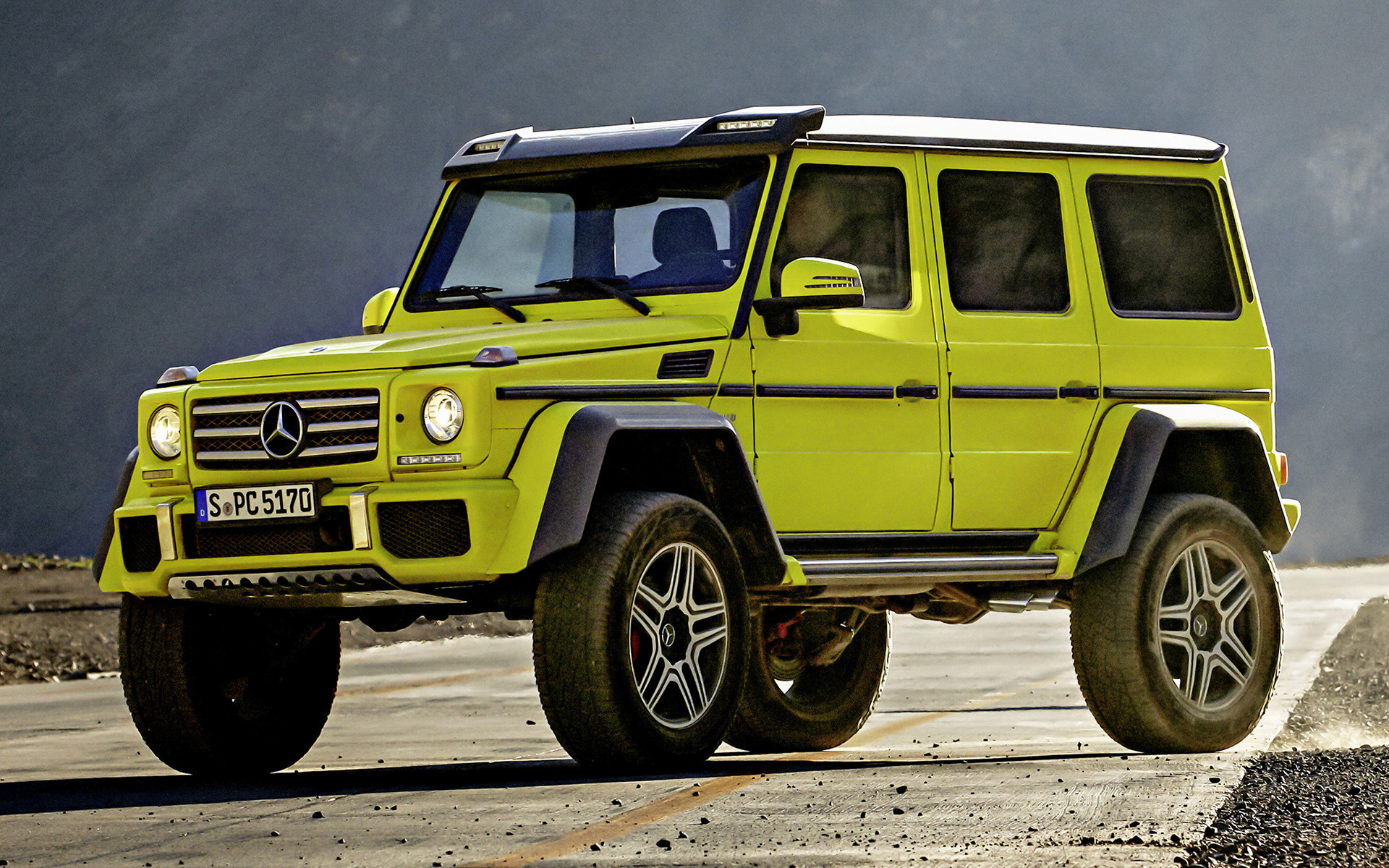 2015 Mercedes-Benz G-Class 4x4² - Wallpapers and HD Images ...