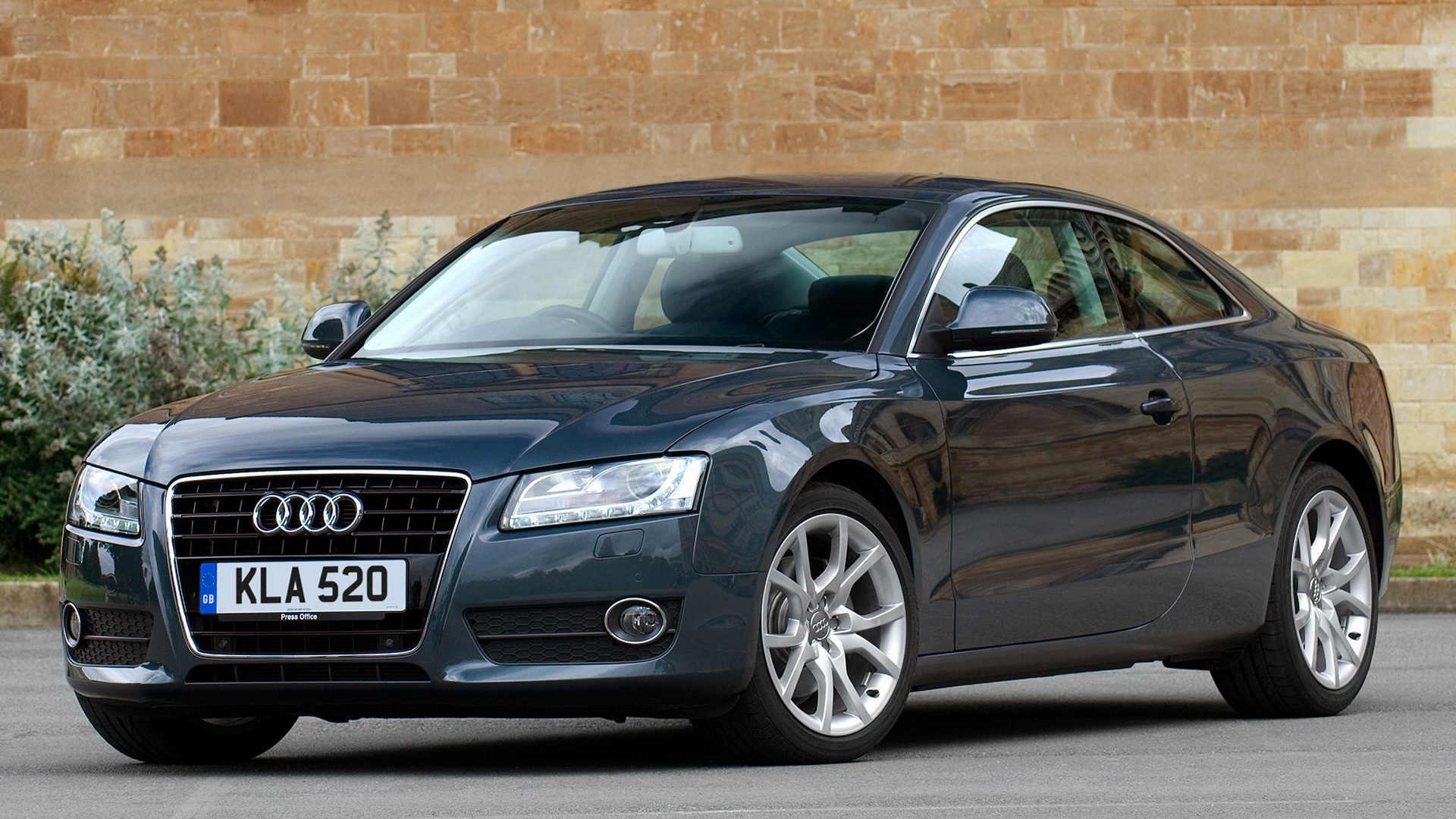 audi a5 coupe 2007 uk wallpapers and hd images car pixel. Black Bedroom Furniture Sets. Home Design Ideas