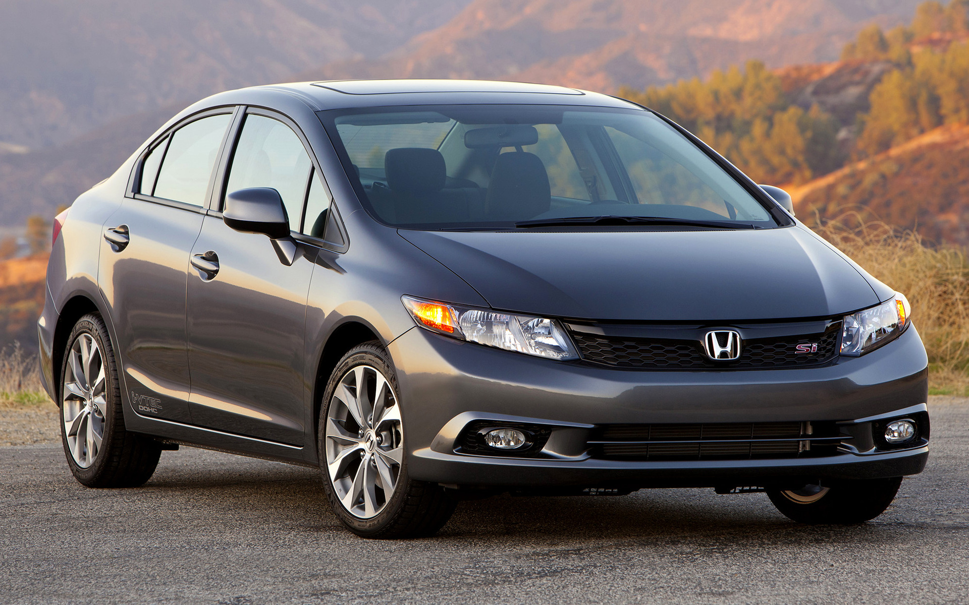 2011 Honda Civic Si Sedan Wallpapers And Hd Images Car