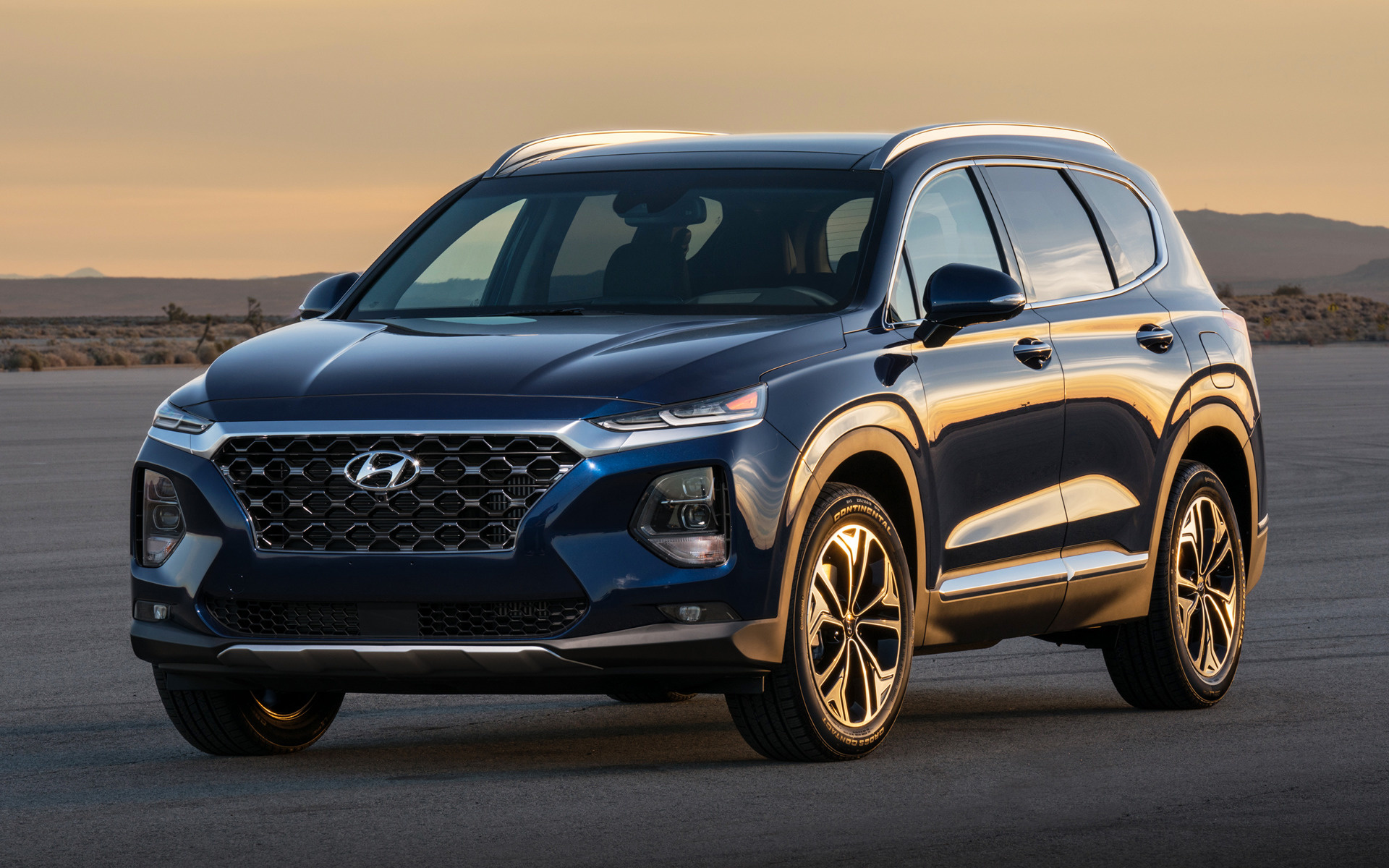 2019 Hyundai Santa Fe Us Wallpapers And Hd Images
