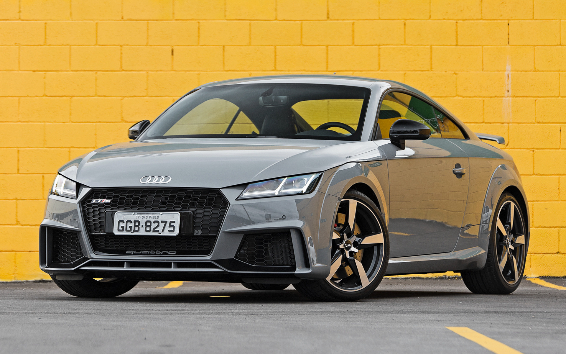 audi tt rs coupe 2018 br wallpapers and hd images car pixel. Black Bedroom Furniture Sets. Home Design Ideas