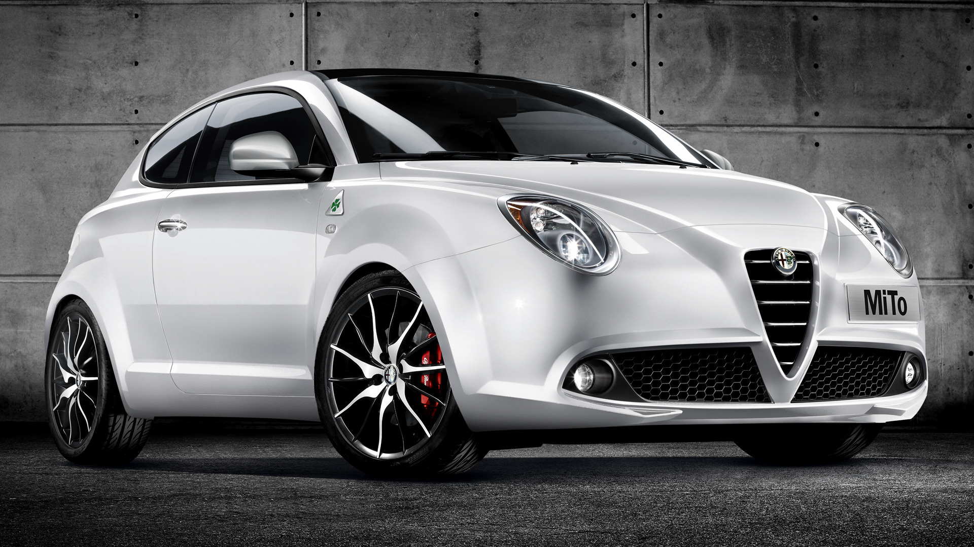 alfa romeo mito quadrifoglio verde 2009 wallpapers and hd images car pixel. Black Bedroom Furniture Sets. Home Design Ideas