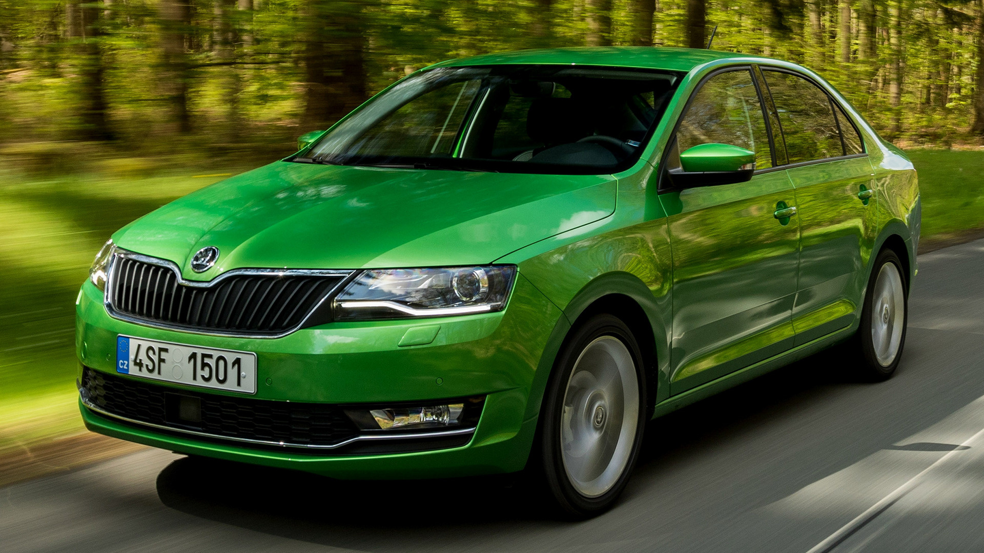 2017 Skoda Rapid Wallpapers And Hd Images Car Pixel