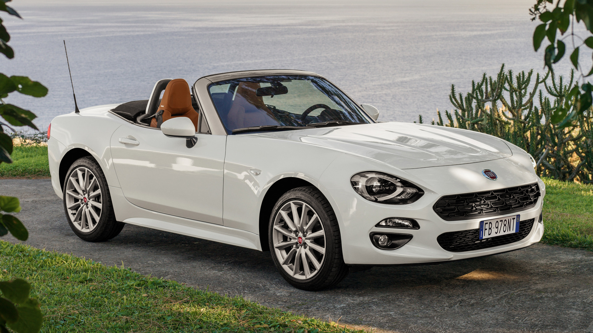 Fiat Spider Wallpaper Hd