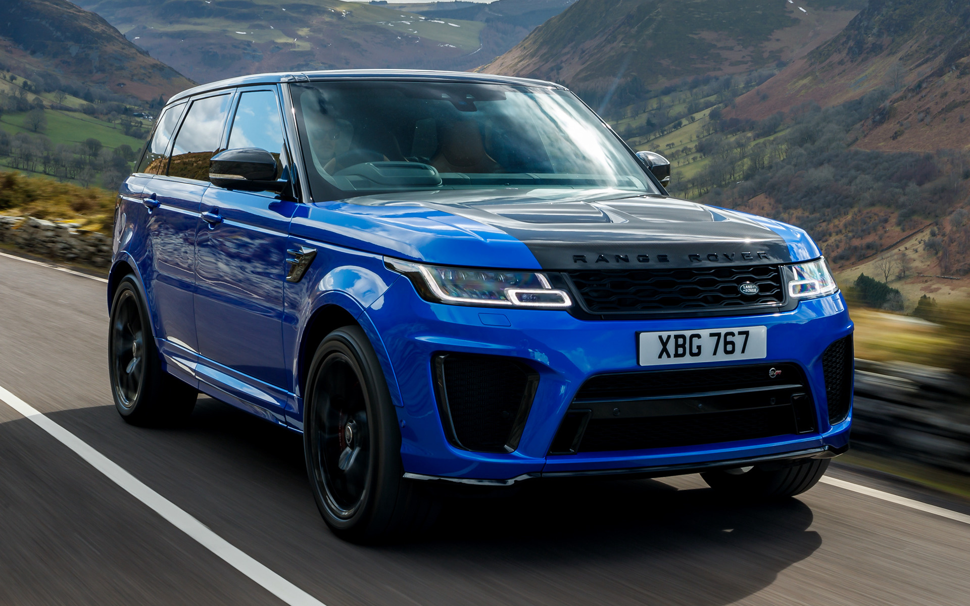 2018 Range Rover Sport SVR (UK) - Wallpapers and HD Images ...