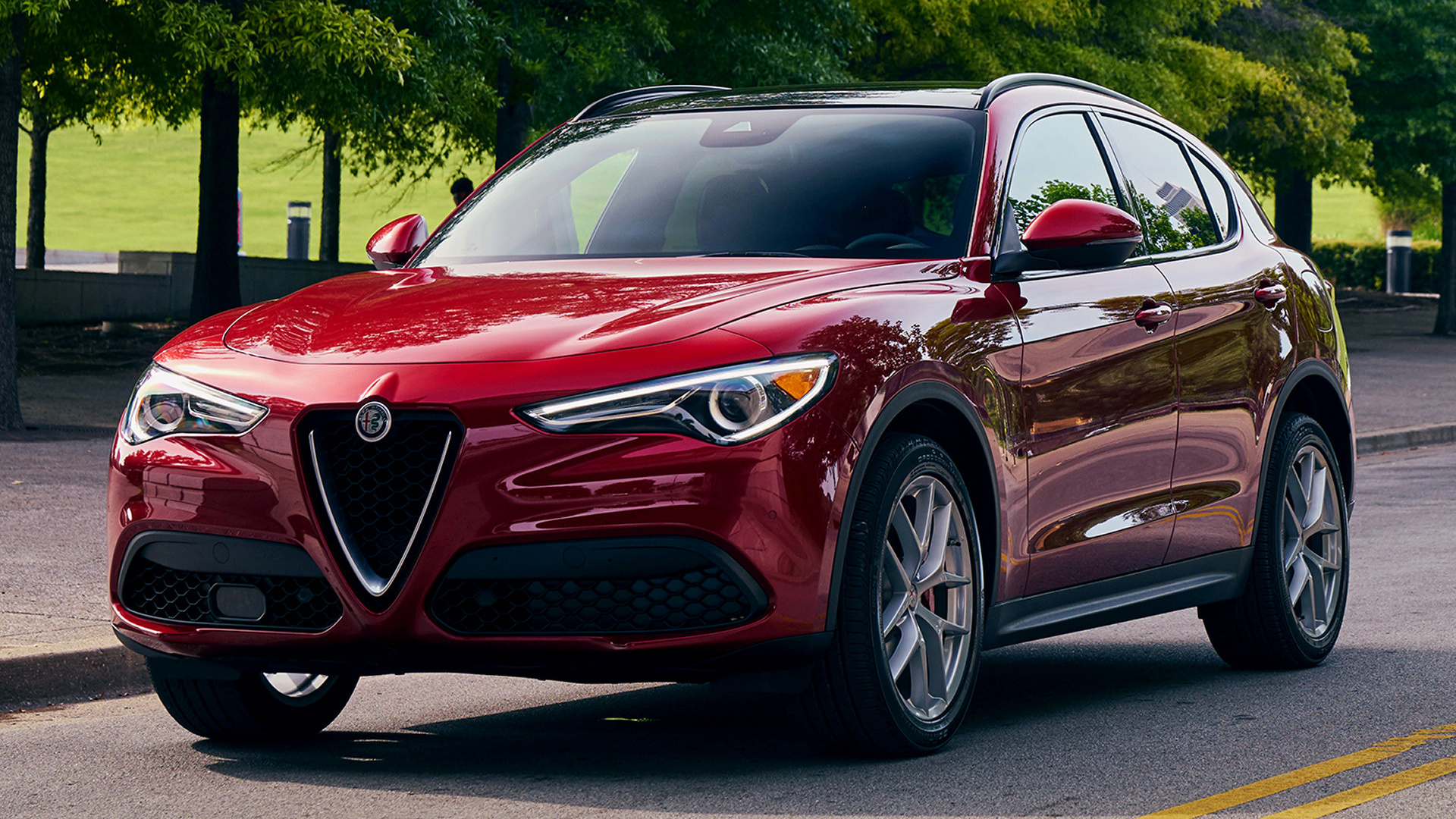 alfa romeo stelvio 2018 us wallpapers and hd images car pixel. Black Bedroom Furniture Sets. Home Design Ideas
