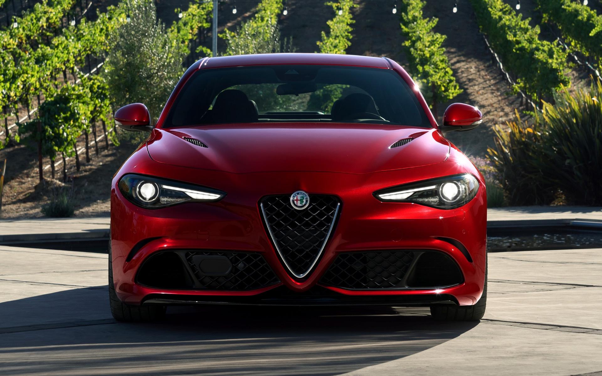 Alfa Romeo Giulia >> Alfa Romeo Giulia Quadrifoglio (2017) US Wallpapers and HD Images - Car Pixel