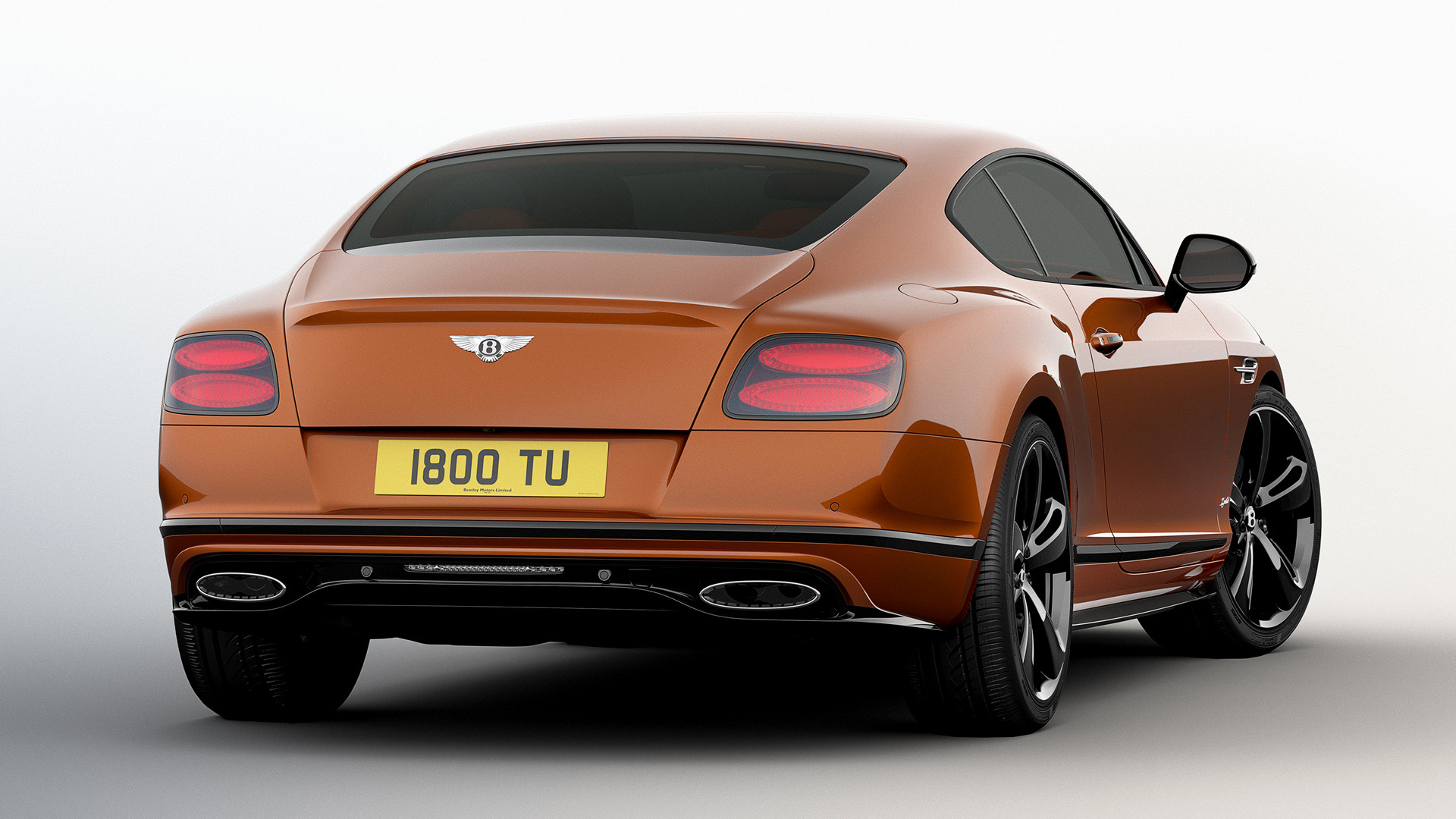 Bentley Continental GT Speed Black Edition 2016 Wallpapers and HD