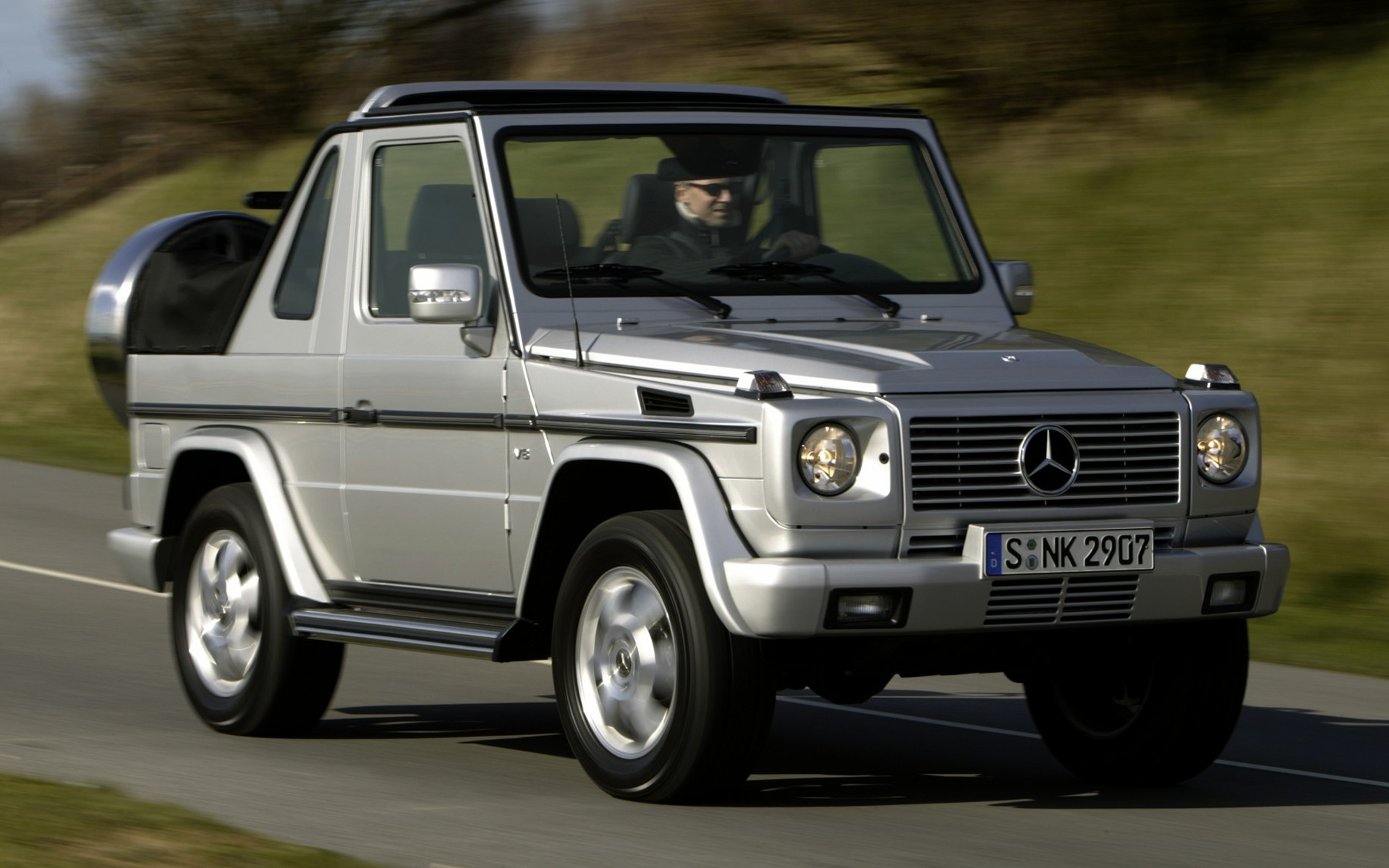 2002 Mercedes Benz G Class Cabriolet Wallpapers And Hd Images Car Pixel