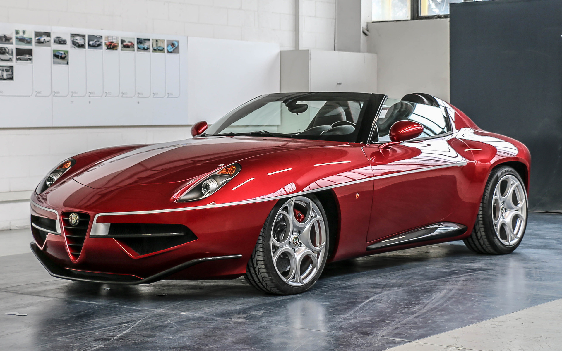 alfa romeo disco volante spyder  wallpapers  hd images car pixel