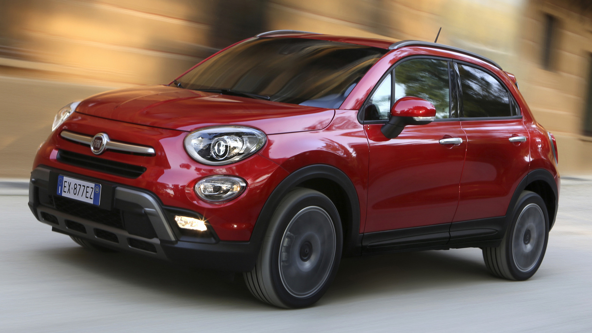2015 fiat 500x cross wallpapers and hd images car pixel. Black Bedroom Furniture Sets. Home Design Ideas