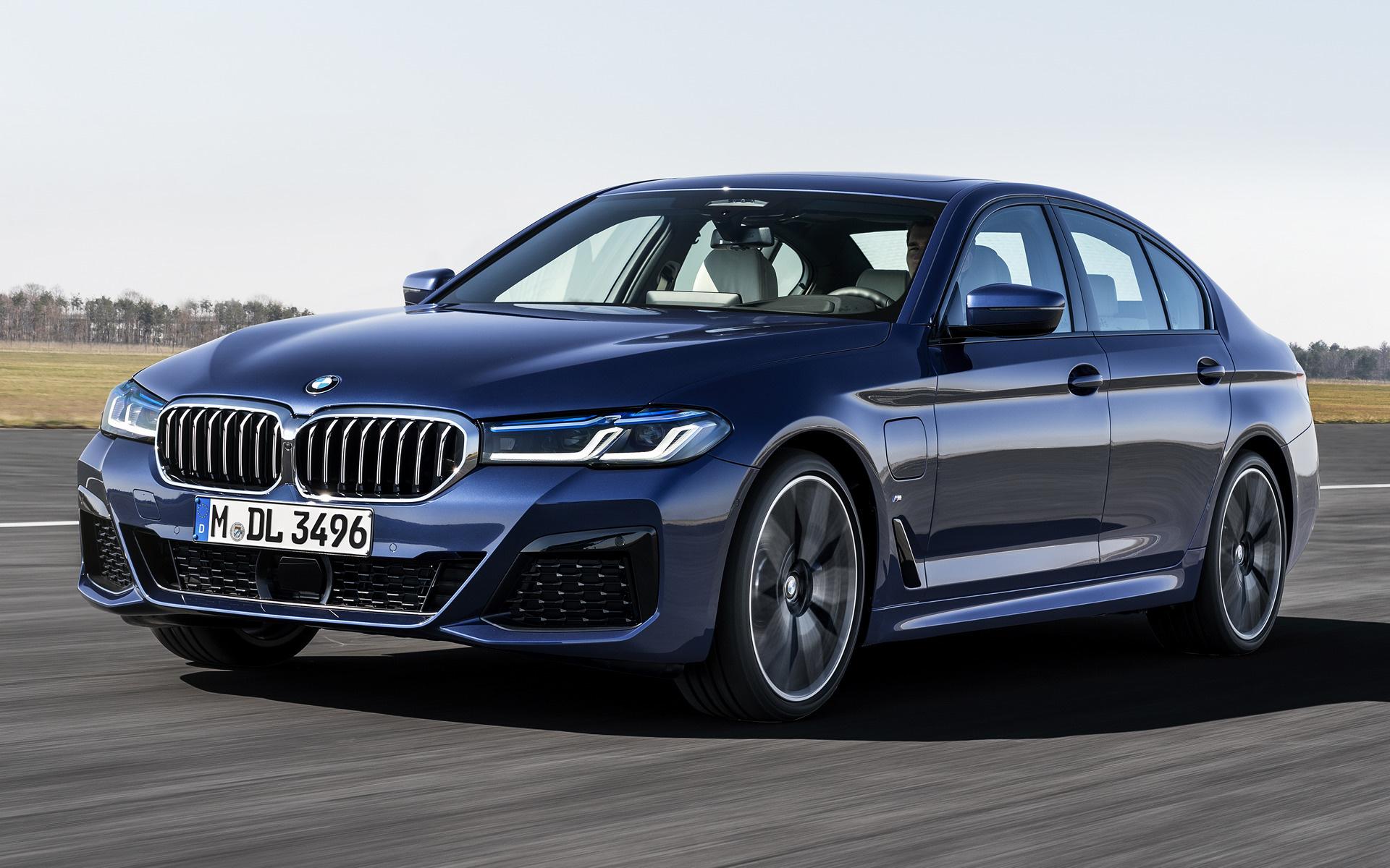 2020 BMW 550I Spy Shoot