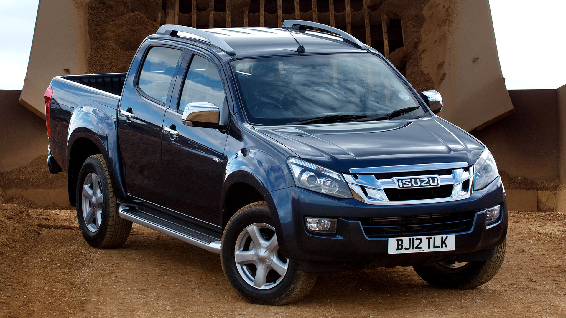 2012 Isuzu D-Max Double Cab (UK) - Wallpapers and HD ...