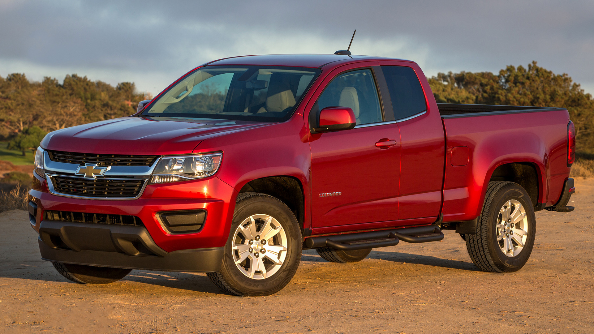 Chevrolet Colorado Lt Extended Cab 2015 Wallpapers And