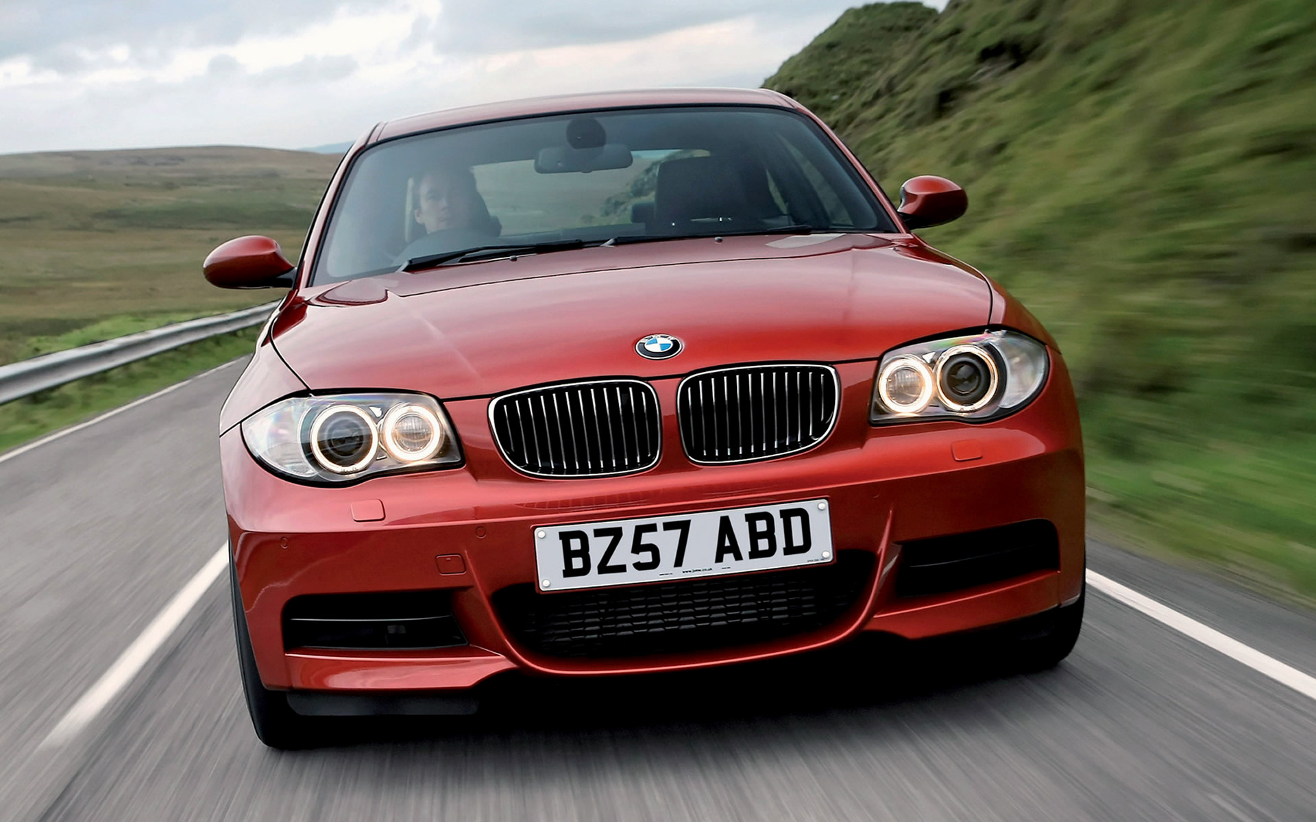 2008 Bmw 1 Series Coupe M Sport Uk Wallpapers And Hd