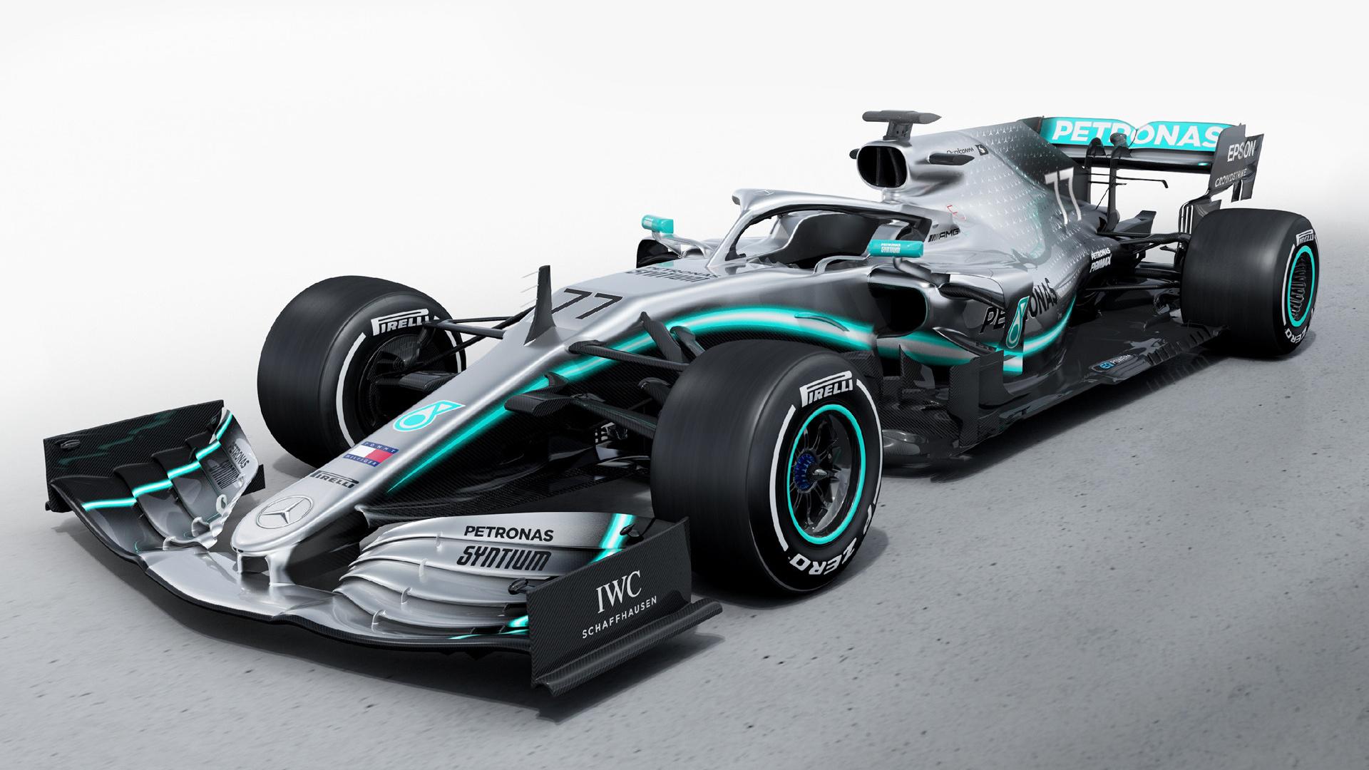 2019 Mercedes Amg F1 W10 Eq Power Hintergrundbilder Und