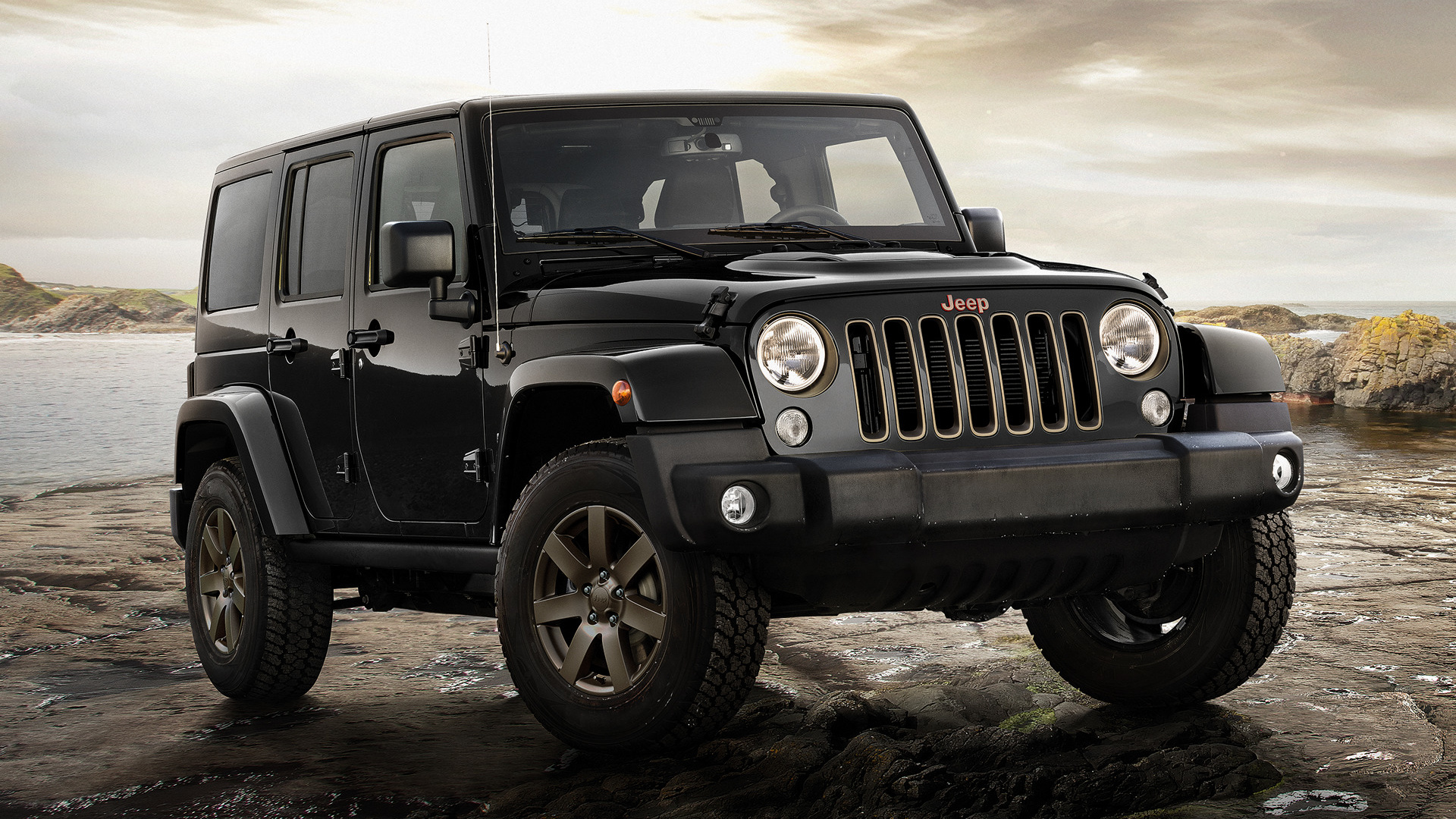 Jeep Wrangler Unlimited 75th Anniversary 2016 EU Wallpapers And HD