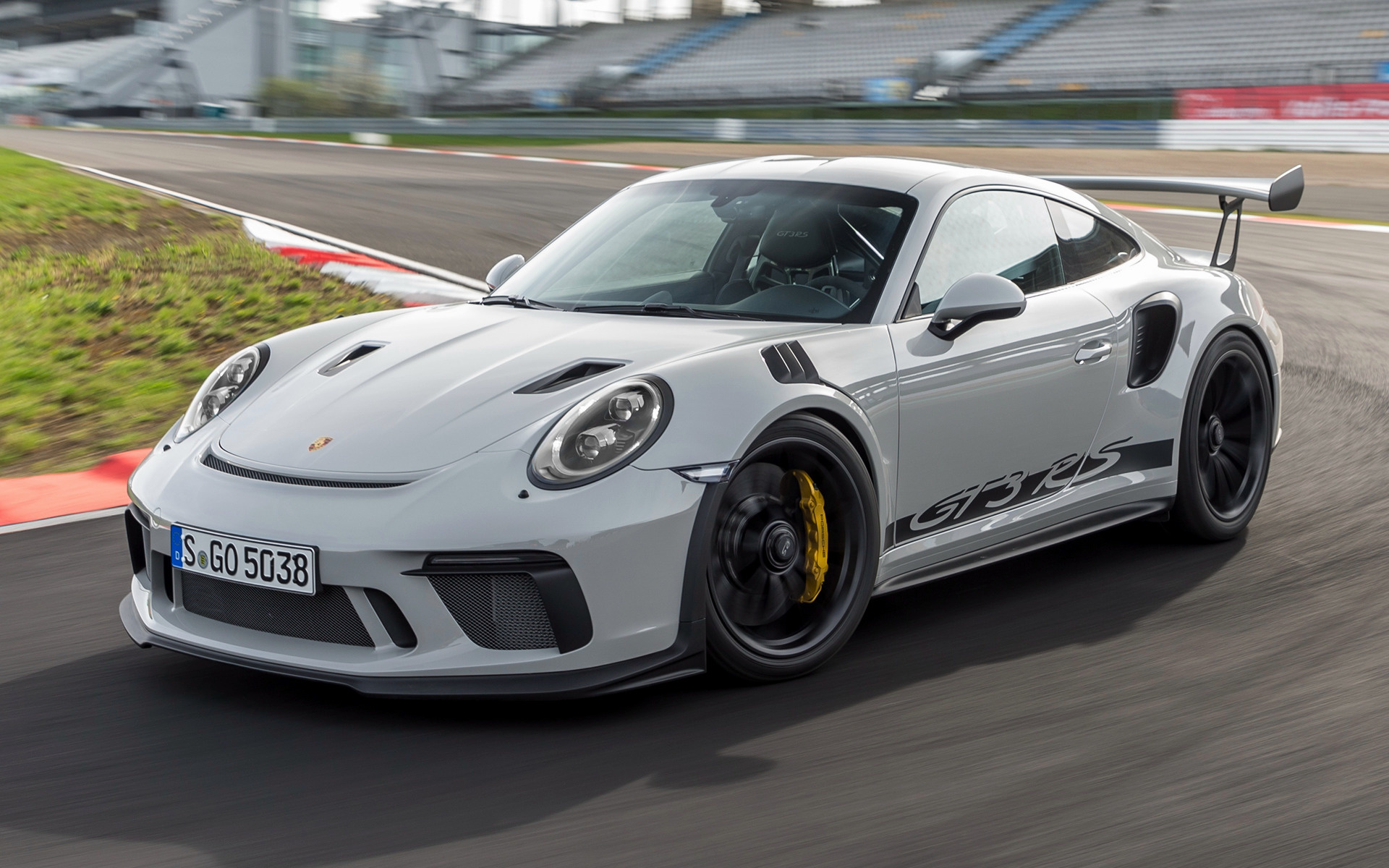 Porsche 911 Turbo S >> 2018 Porsche 911 GT3 RS - Wallpapers and HD Images | Car Pixel