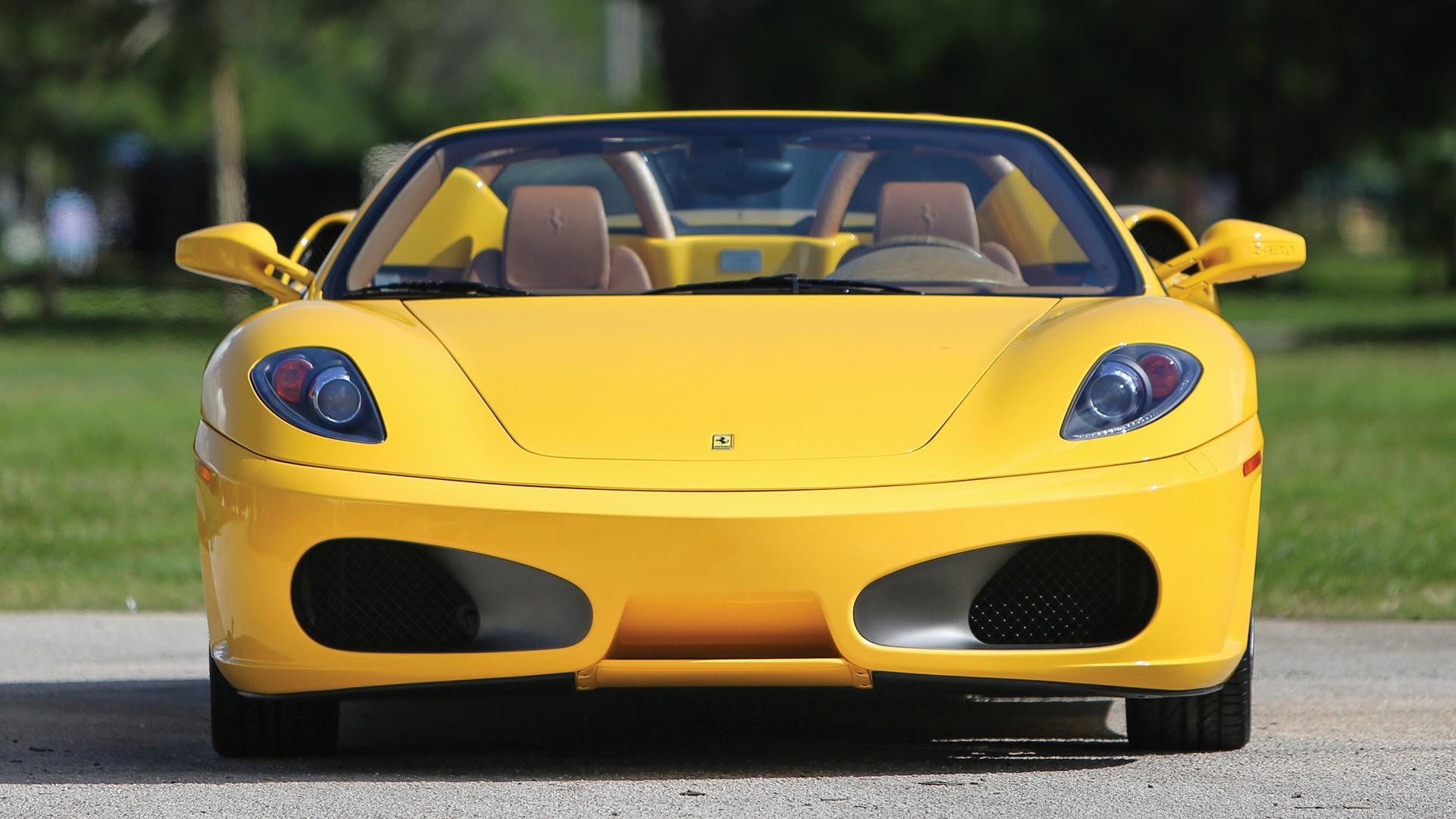 2005 Ferrari F430 Spider Us Hintergrundbilder Und Wallpaper In Hd Car Pixel