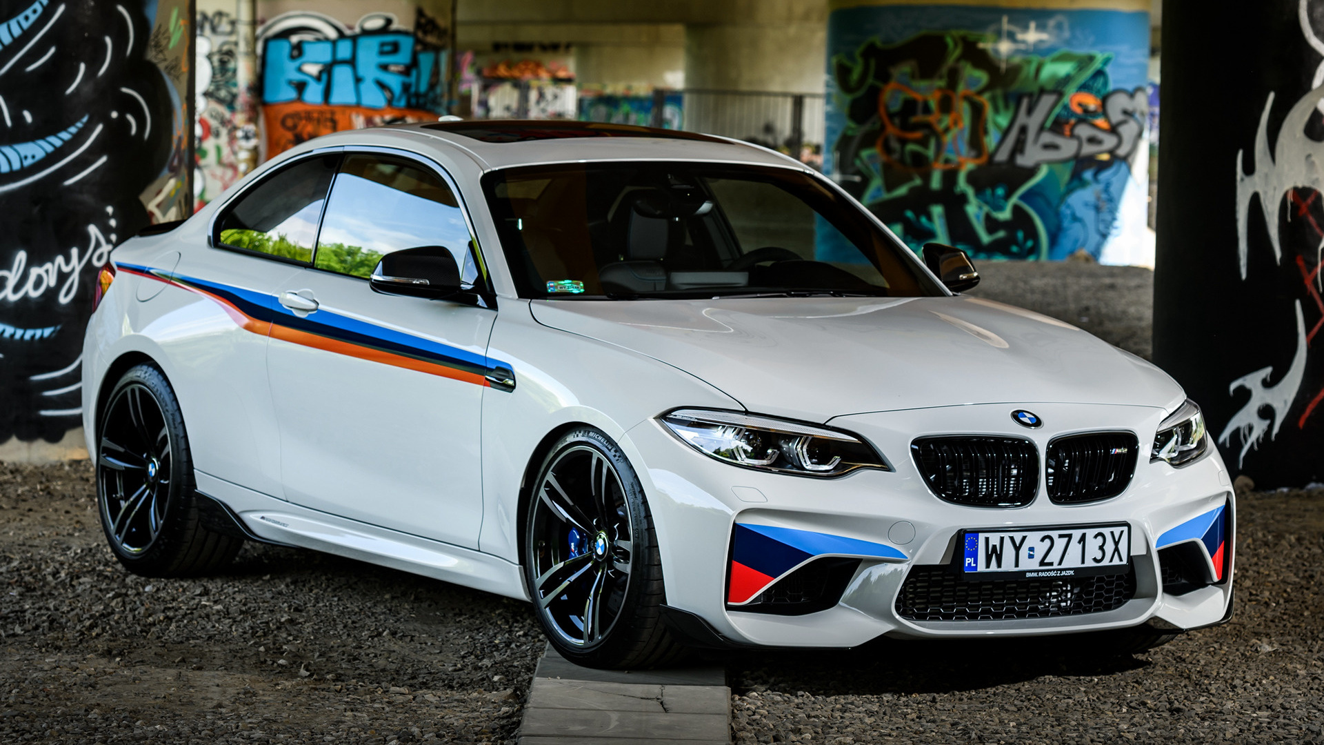2017 Bmw M2 Coupe With M Performance Parts обои и картинки