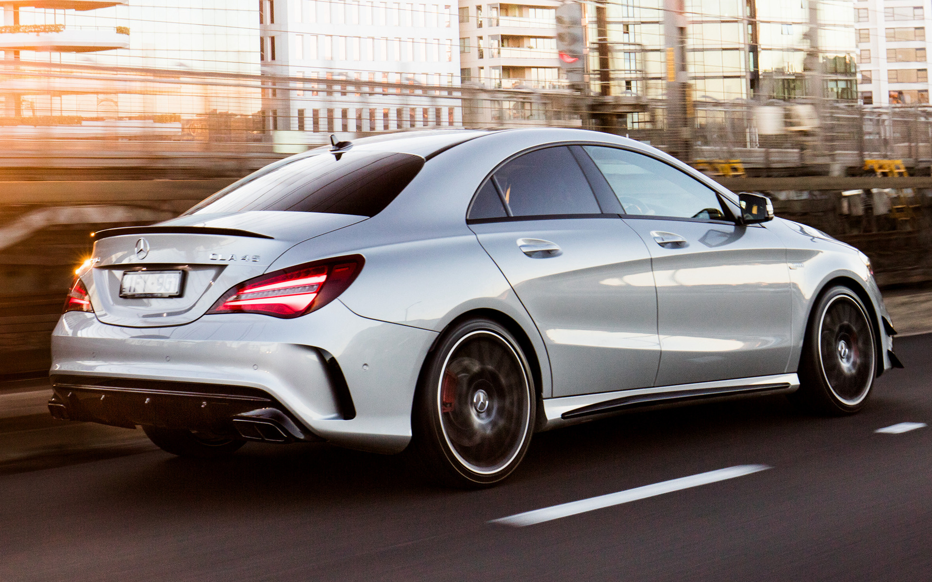 2016 Mercedes Amg Cla 45 Aerodynamics Package Au