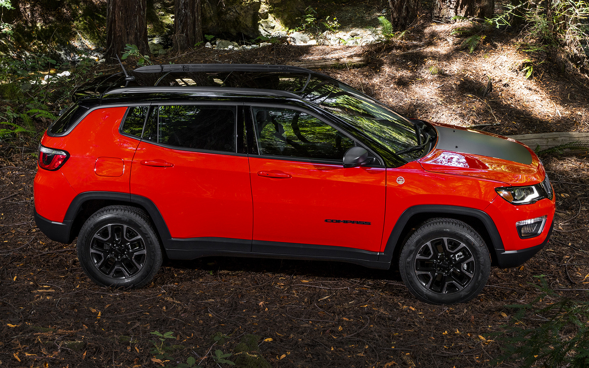 jeep compass trailhawk 2017 wallpapers and hd images. Black Bedroom Furniture Sets. Home Design Ideas