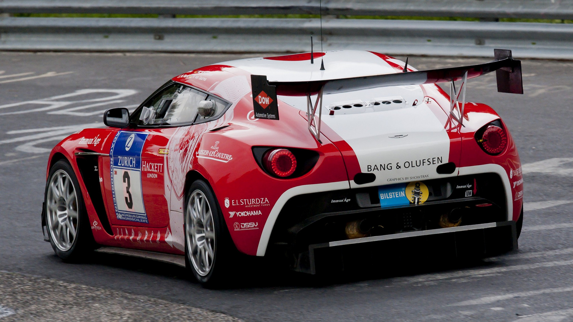 HD 16:9 · Wide 8:5 · Aston Martin V12 Zagato Race Car ...