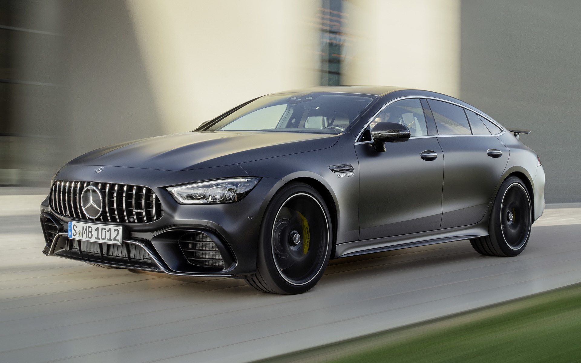 mercedes amg gt 63 s 4 door 2018 wallpapers and hd images car pixel. Black Bedroom Furniture Sets. Home Design Ideas