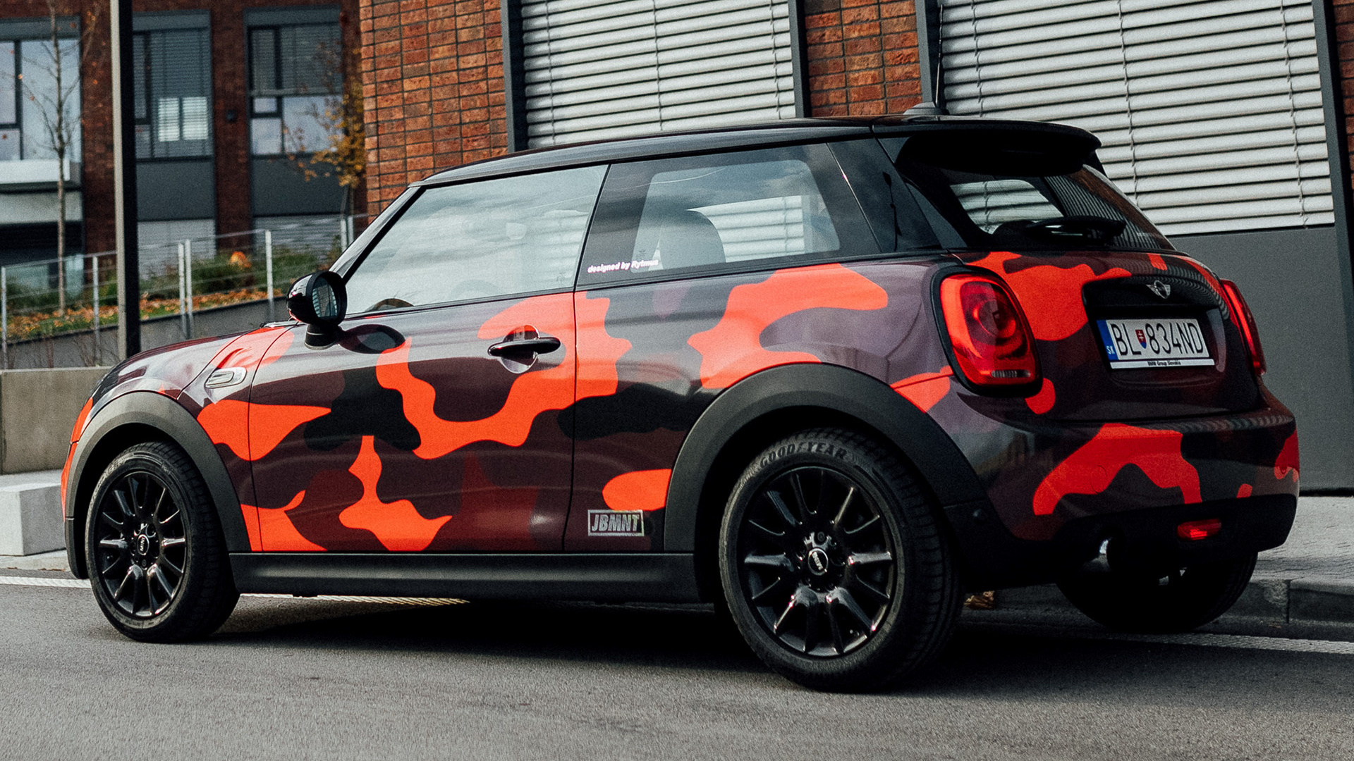 Mini Cooper Design Camo Red 3 Door By Patrik 2017
