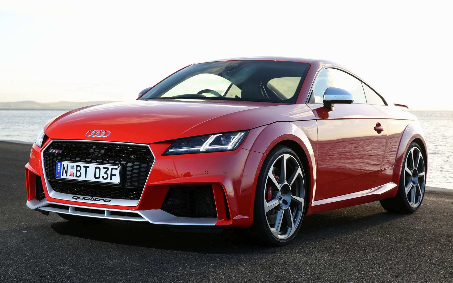 2017 audi tt rs coupe au wallpapers and hd images. Black Bedroom Furniture Sets. Home Design Ideas